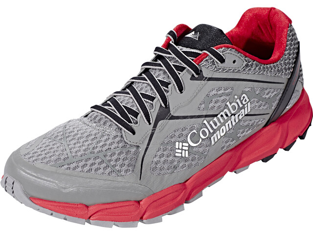 Columbia Caldorado II Chaussures Homme, charcoal/bright red
